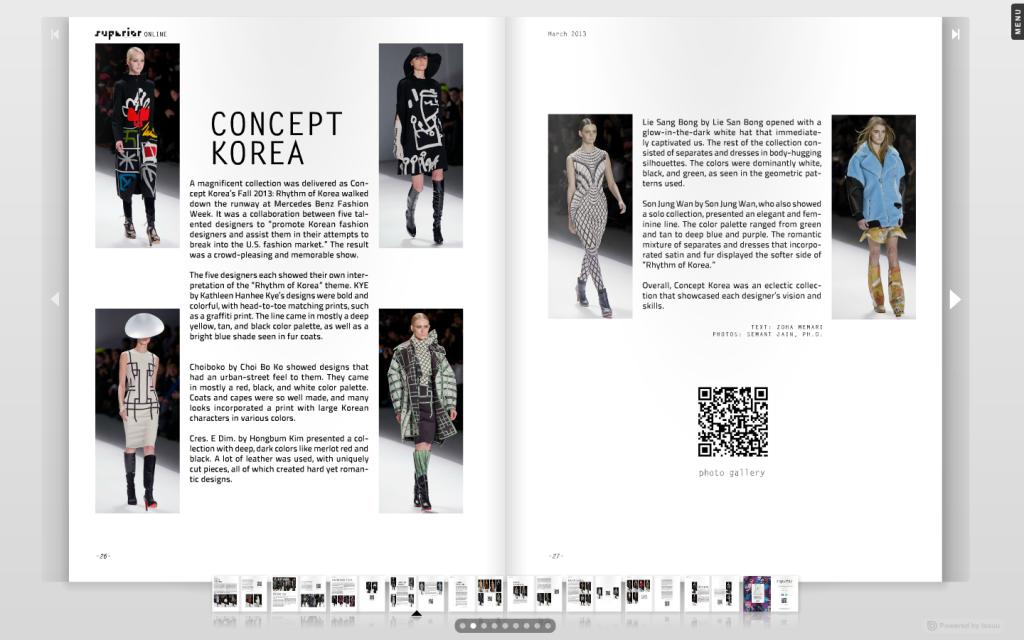 concept korea Superior mag